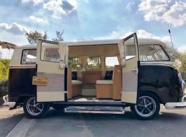VW Campervan wedding hire in Waterlooville